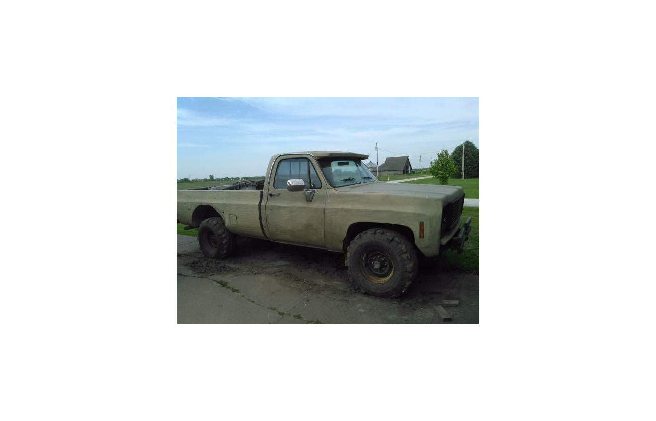 1975 Chevrolet K20 for sale in Call for Location, MI - $5,495