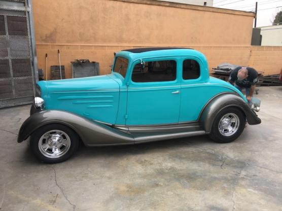 1934 Chevrolet 5 Window All-Steel Coupe for sale in LAKEWOOD, CA - $36,000