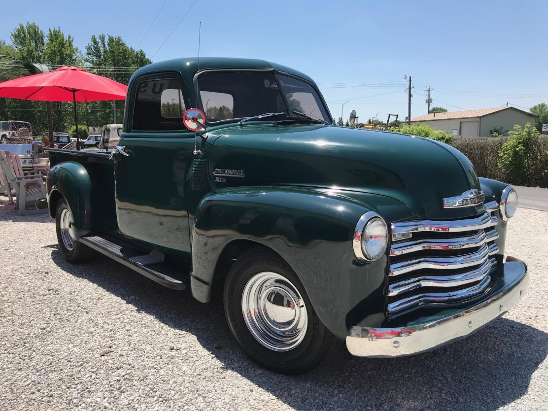 1950 Chevrolet Pickup All Steel Original Restored Truck For Sale Hotrodhotline