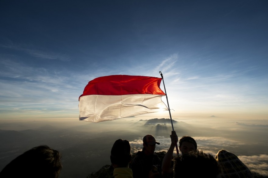 Image result for indonesia flag photography