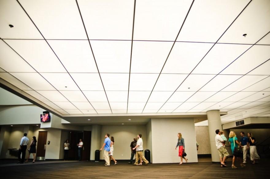 Hallway, People