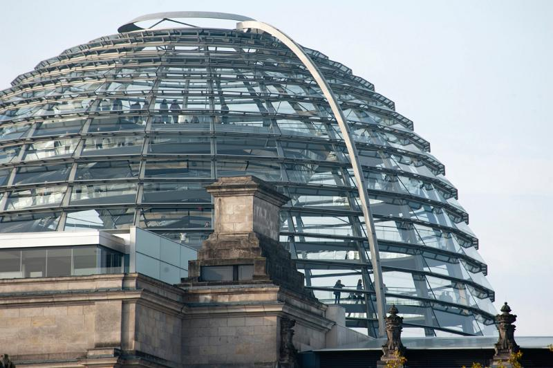 reichstag dome architecture attraction berlin building bundestag capital city cupola. Black Bedroom Furniture Sets. Home Design Ideas