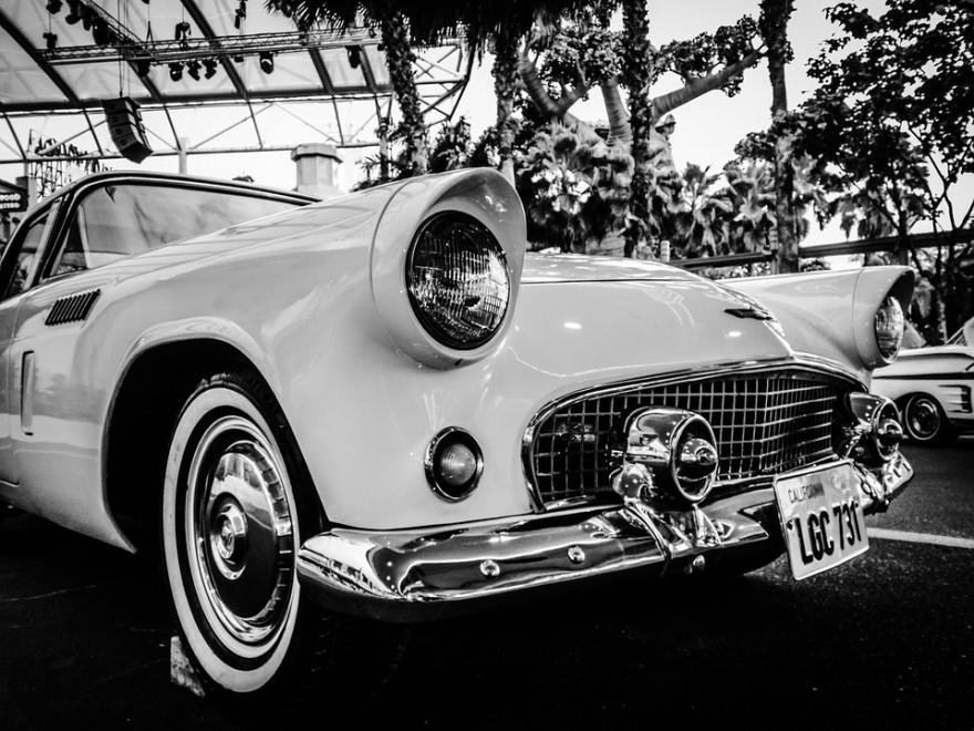 Automobile, B/w, Black and White, Car, Classic, Classic Car, Free ...