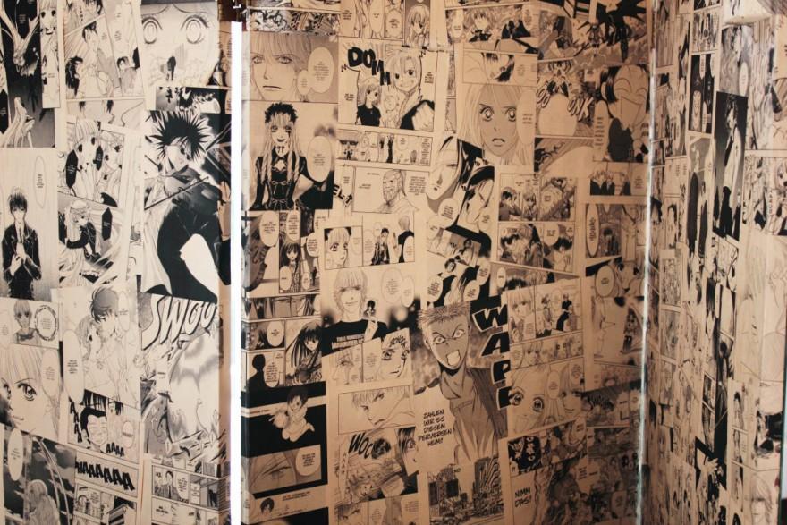 Manga Room Divider