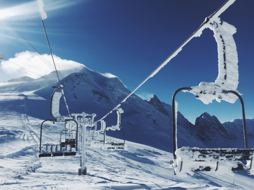 ski lift skiing snowboarding - photo #32