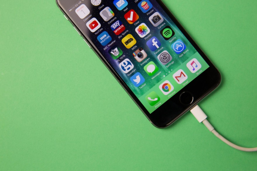 iPhone On Charge