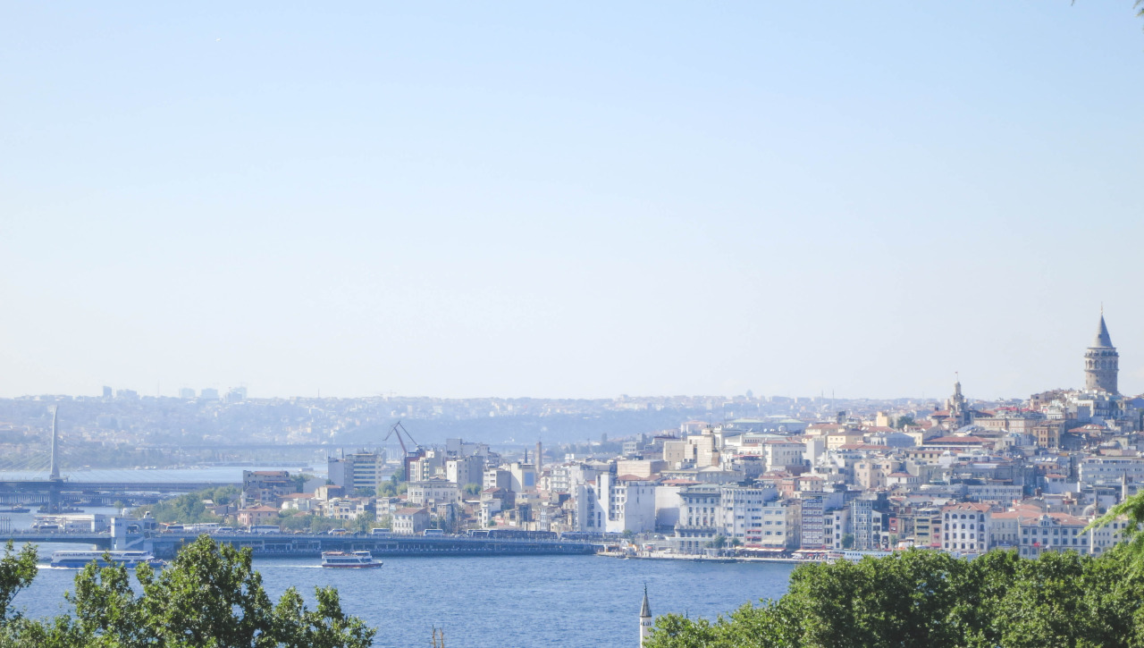C A Turkey Istanbul View of the Bosphorus,...