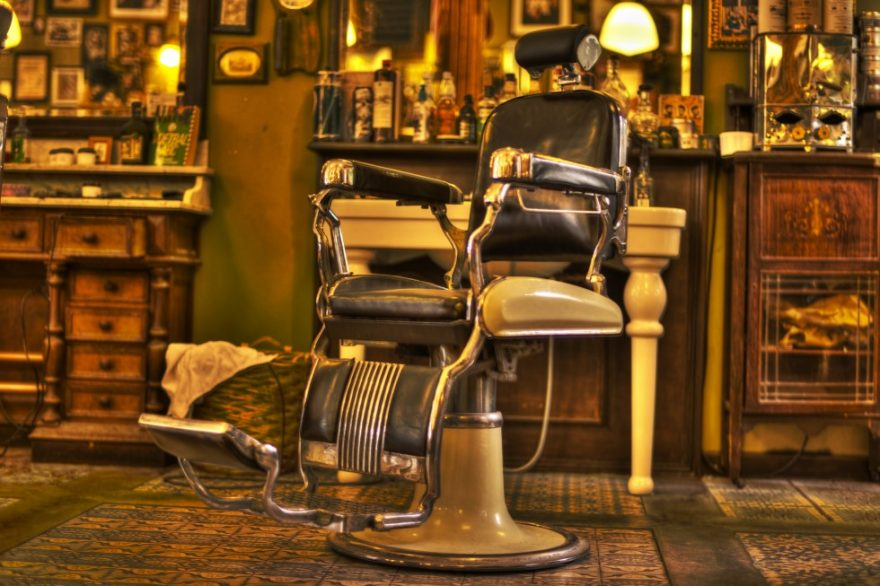 Barber chair old school