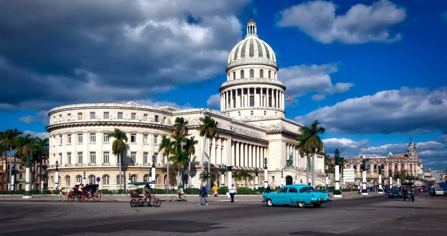 Capital building View in Havana, Cuba