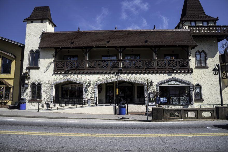 Store building in Alpine Helen, Georgia
