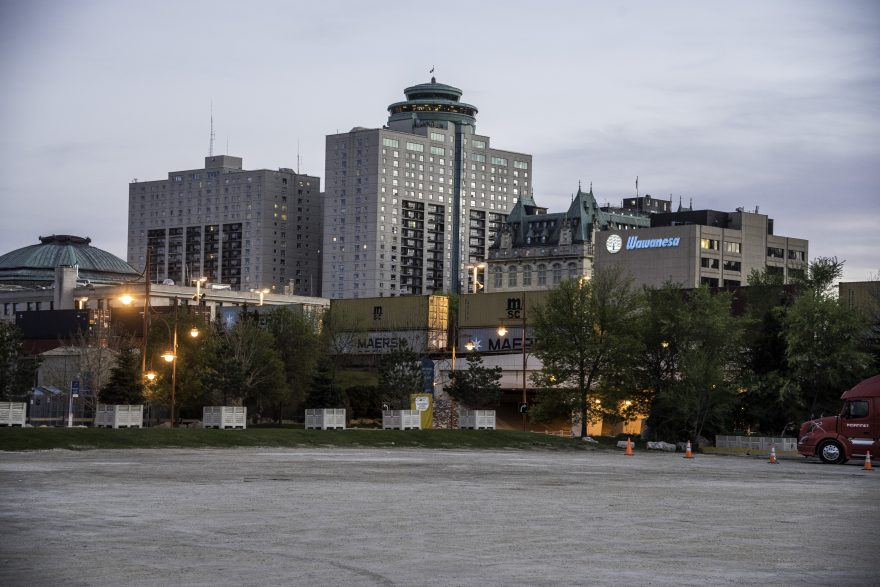 City Center Towers in Winnipeg