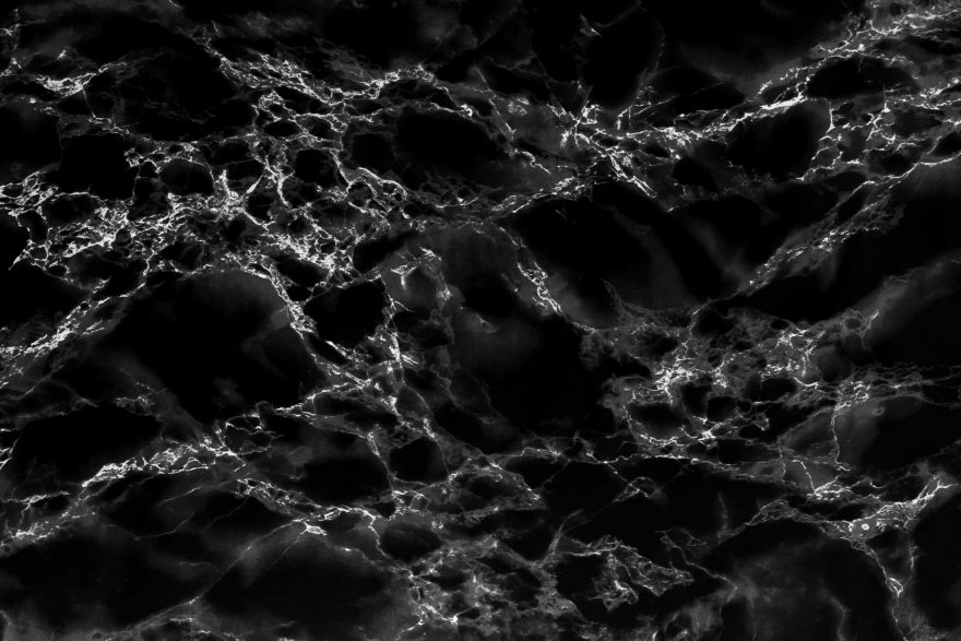 Black Marble Stone Background Texture Pattern