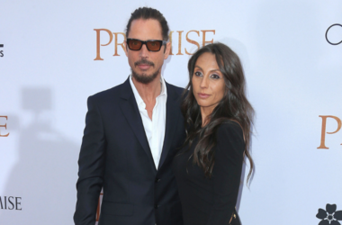 "Chris Cornell, Vicky Karayiannis. Premiere Of Open Road Films' ""The Promise"" held at TCL Chinese Theatre"