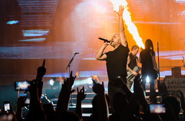 David Draiman of Disturbed