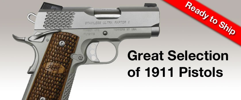 1911 Pistols Available