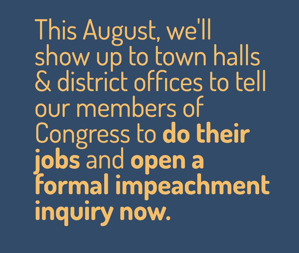 Impeachment Inquiry Now