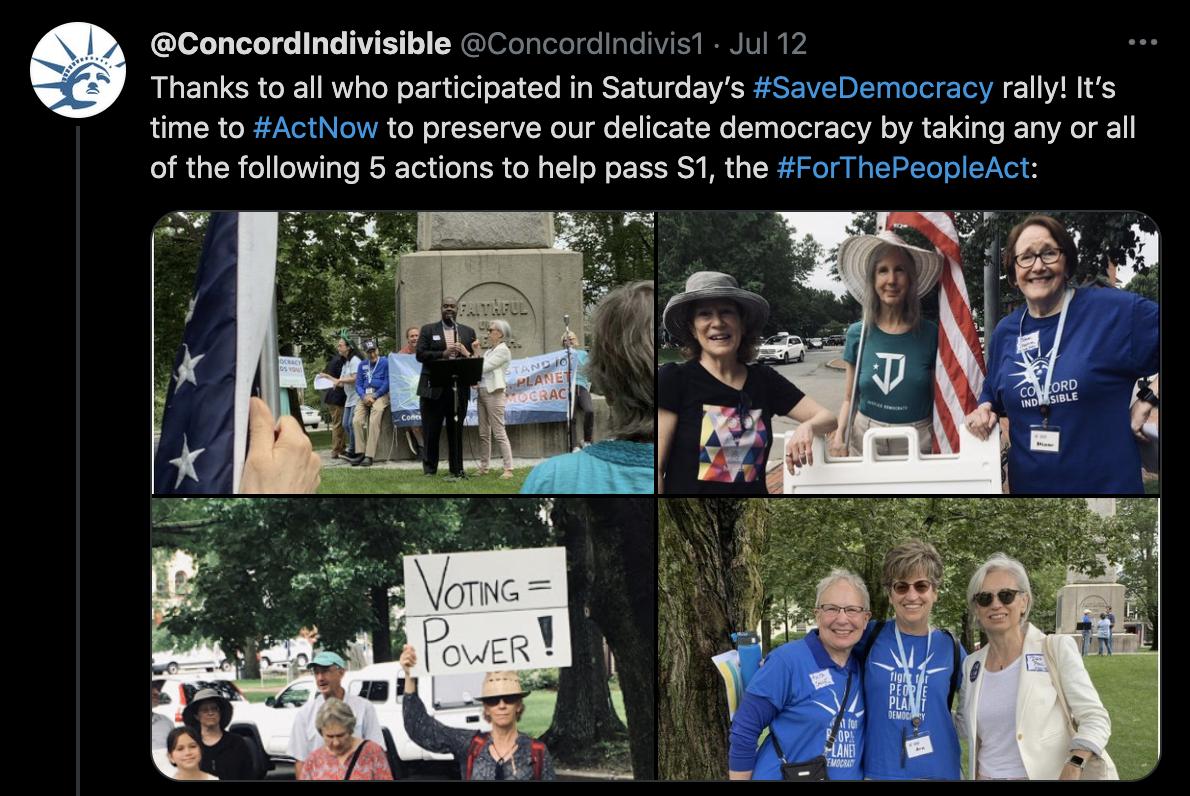 Tweet from ConcordIndivis1