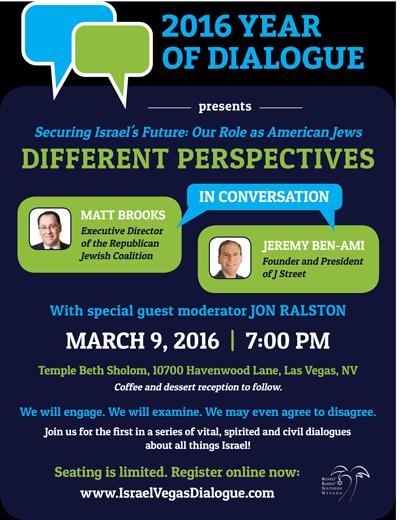 Nevada Debate Flier