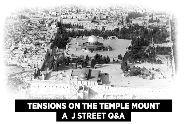 Tensions on the Temple Mount