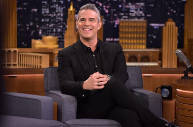 Andy Cohen visits 'The Tonight Show Starring Jimmy Fallon' on December 5, 2018 in New York City.