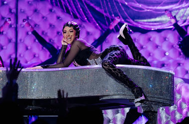 Cardi B performs onstage at the 61st annual GRAMMY Awards at Staples Center on February 10, 2019 in Los Angeles, California