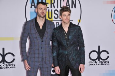 Alex Pall (L) and Andrew Taggart of The Chainsmokers