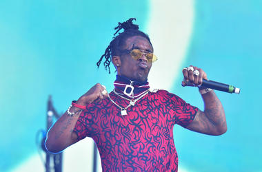 Lil Uzi Vert performing on the third day of the Wireless Festival, in Finsbury Park, north London