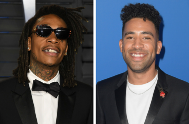 04 March 2018 - Los Angeles, California - Wiz Khalifa. 2018 Vanity Fair Oscar Party hosted following the 90th Academy Awards held at the Wallis Annenberg Center for the Performing Arts. / New York, NY - AUG 20: KYLE attends the 2018 MTV Music Awards at Ra