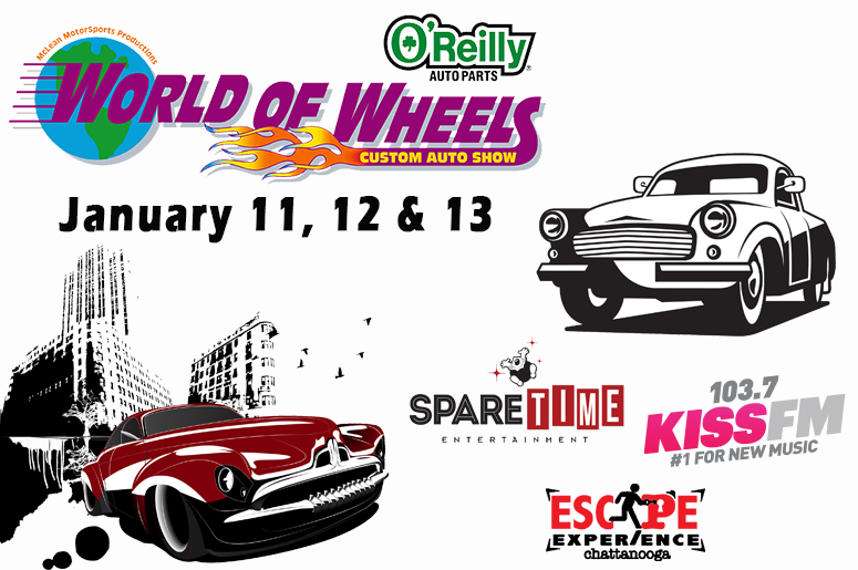O'Reilly Auto Parts World of Wheels 2019 Ticket Giveaway