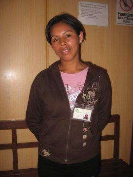Carmen Gabriela - Peruvian Clothing Saleswoman