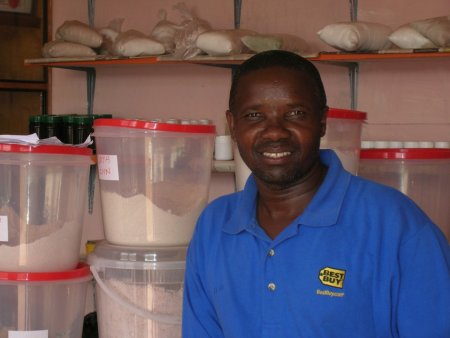 Peter runs an herbal medicine clinic in Kenya