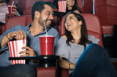Couple At A Movie Theater