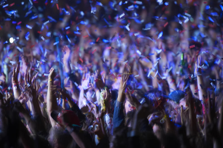 Music Festival, Concert, Audience