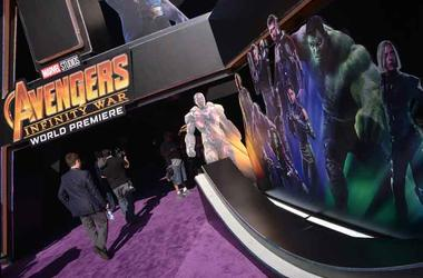 Avengers: Infinity War world premiere