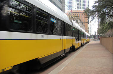 DART,Train,Downtown,Dallas,Van,Accident,Car,DFW,Local,News,100.3 Jack FM