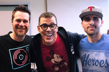 Steve-O With JT & Billy Kidd
