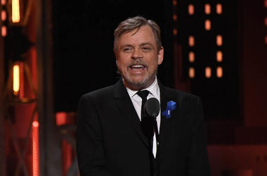 Mark Hamill, Suit, Tony Awards