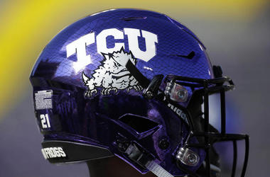 TCU, Football, Helmet, Horned Frogs