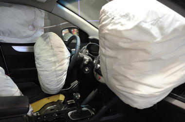 airbag under his seat