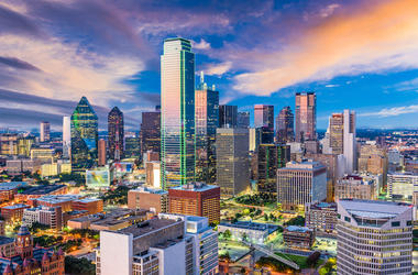 Downtown, Dallas, Texas, Skyline