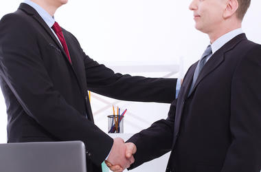 Work, Business, Handshake