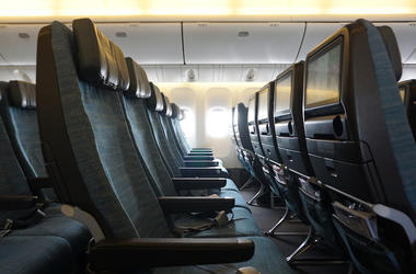 Airplane, Cabin, Seats, Empty