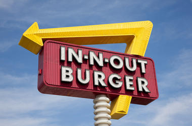 In-N-Out, Burger, Sign