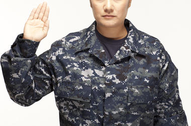 Military, Right Hand Raised, Oath, Swearing In