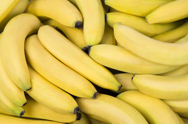 Fresh, Bananas, Pile, Yellow