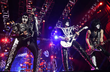 KISS, Concert, Gene Simmons, Paul Stanley, Tommy Thayer