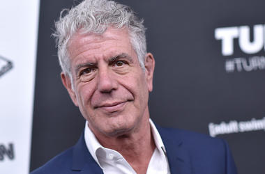 Anthony Bourdain, Red Carpet