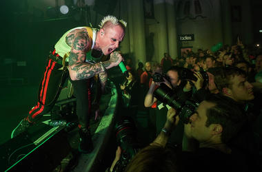 Keith Flint, The Prodigy, Concert, Stage, Singing, Brixton O2 Academy, London, 2017