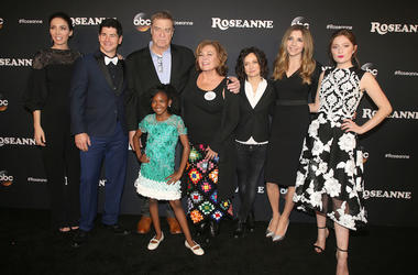 Roseanne, Cast, Red Carpet