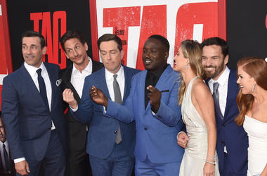 Jon Hamm, Jake Johnson, Ed Helms, Jeremy Renner, Hannibal Burress, Tag, Movie, Premier